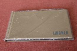 Münzen Taschenalbum, Münzen Pocketalbum, Münzen Tauschalbum, LINDNER, Hellbraun, OVP - Materiale