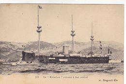 """Le """"Richelieu"""" Cuirassé à Fort Central - Schiffe"""