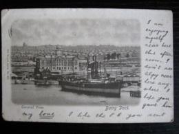 General View, Barry Dock, Glamorgan - Vignette - Glamorgan