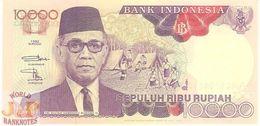 INDONESIA 10000 RUPIAH 1996 PICK 131e UNC - Indonésie