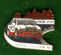 Pin's Automobile Citroën Sport Trophée Challenge AX   EGF  Démons Et Merveilles - Citroën