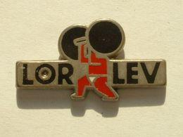 Pin's LORLEV - HALTEROPHILIE - Halterofilia