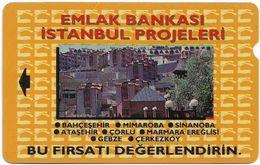 Turkey - TT - Alcatel - R Adert. Series - Emlak Bankasi, Istanbul Evleri, R-007, 60U, 1994, 292.166ex, Used - Turquie