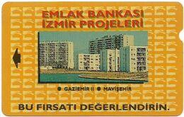 Turkey - TT - Alcatel - R Adert. Series - Emlak Bankasi, Izmir Evleri, R-008, 30U, 1994, 399.706ex, Used - Turquie