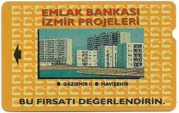Turkey - TT - Alcatel - R Adert. Series - Emlak Bankasi, Izmir Evleri, R-009, 60U, 1994, 292.166ex, Used - Turquie
