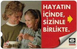 Turkey - TT - Alcatel - R Advert. Series - Arcelik, R-097, 60U, 1997, Used - Turquie