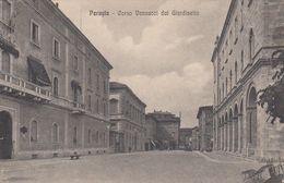 PERUGIA-CORSO VANNUCCI DAL GIARDINETTO-CARTOLINA VIAGGIATA IL 22-12-1925 - Perugia