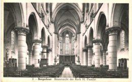 (207)   Borgerhout  Binnenzicht Der Kerk H Familie - Belgique