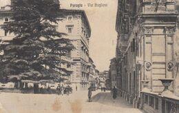 PERUGIA-VIA BAGLIONI-CARTOLINA VIAGGIATA IL 1-9-1925 - Perugia