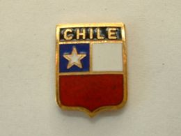 PIN'S CHILIE - CHILE - BLASON - Cities