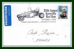 USA 24é Kernville Rod Run Weldon 1999 >  France TB Automobile Voiture Course Car - Cars