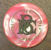 75 PARIS BILLARD PALACE CLUB JETON DE CASINO DE 10 FRANCS N° 0681 CHIP TOKEN COIN - Casino