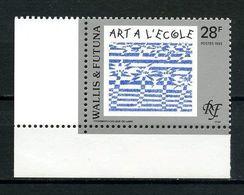 WALLIS FUTUNA 1993 N° 459 ** Neuf MNH Superbe C 1.00 € Art  Dessin Ecole Peintures Paintings Arbres Trees - Wallis And Futuna