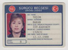 TURKEY DRIVER ID - Altre Collezioni