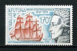 WALLIS FUTUNA 1993 N° 453 ** Neuf MNH Superbe C 5.25 € Bateaux Boats Ships  D'Entrecasteaux Voilier Sailboat Transpor - Wallis And Futuna