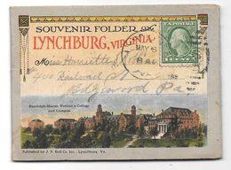 Souvenir Folder - LYNCHBURG, VIRGINIA - 18 Views - Format: 8 X 11 Cm - Etats-Unis