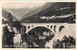 "1930's-Norvegia Cartolina ""Fra Raumabanen Kylling Bro."" - Norvège"