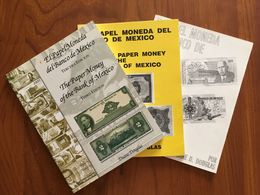 EL PAPEL MONEDA DEL BANCO DE MEXICO De Duane D. Douglas - 1°, 2° Et 3° édition - Libros & Software