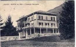 """1928-""""Levico-Bagni Pensione Quisisana""""viaggiata - Trento"""
