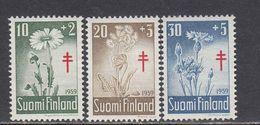 Finland 1959 - Blumen, Mi-Nr. 509/11, MNH** - Finland
