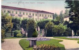 1927- Cartolina Levico Grand Hotel Des Bains Regina-Valsugana,in Arrivo Annullo Frazionario Di Gussago 12-92 - Trento