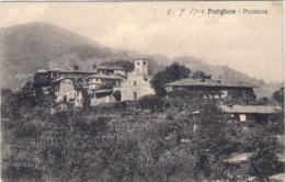 1914- Cartolina Di Pratiglione Torino -panorama Viaggiata - Italie