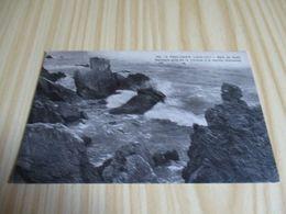 CPA Le Pouliguen (44).Baie Du Scall - Rochers Pris De La Falaise à Marée Montante. - Le Pouliguen