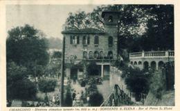 1930- Cartolina Chianciano Stazione Climatica Termale-sorgente Sant'Elena Affrancato 20c.Imperiale - Siena
