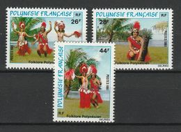 POLYNESIE FRANCAISE 1981 YT N° 165 à 167 ** - Polinesia Francese
