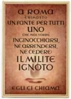 """1944's- """"Il Milite Ignoto""""edita Dalla Prop.Staffel - Militari"""