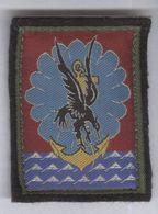 Ecusson D'épaule Scratché 11ème Brigade Parachutiste - Scudetti In Tela