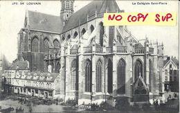 00436 LOUVAIN LEUVEN // LA COLLEGIALE SAINT-PIERRE // TIMBRE //  VOYAGEE - Leuven