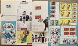 Belgie Verzamelingen Strips Kuifje Smurven Guust - Belgium