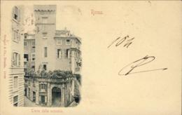 1899-Roma Torre Della Scimmia, Cartolina Viaggiata - Roma (Rome)