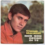 """Gianni Morandi (1970)  """"Non Son Degno Di Te"""" - Vinyles"""
