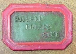 75 PARIS BILLARD PALACE CLUB JETON DE CASINO DE 10,00 FRANCS N° 2375 CHIP TOKEN COIN - Casino
