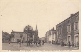 85 : Saint Vincent Storlange : Place Centrale Et Grande Rue    ///  Ref.  Aout 20  //  N° 12.037 - France