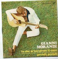 """Gianni Morandi (1970)  """"Tu Che M'hai Preso Il Cuor"""" - Vinyles"""