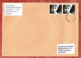 Grossbrief, Ilse Losa, Cascais Nach Leonberg 2013 (96603) - 1910-... Republik