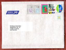 Grossbrief, Amphilex 77 U.a., Zwolle Nach Leonberg 2013 (96604) - Briefe U. Dokumente