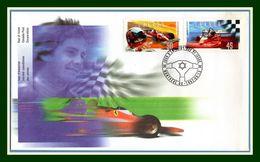 FDC Canada Montréal 1997 G. Villeneuve Formule 1 F1 Voiture Course Automobile Car - Cars
