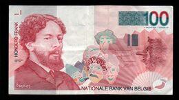 Belgique - 100 Francs (trésorerie) - 1995 (verso Voir Scan) - [ 2] 1831-... : Royaume De Belgique