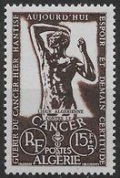 1956 Algérie N° 332  Nf** MNH . Lutte Contre Le Cancer. - Algeria (1924-1962)