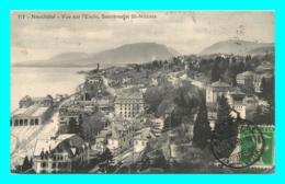 A826 / 155 Suisse NEUCHATEL Vue Sur L'Evole Serrieres Et St Nicolas - NE Neuchatel