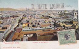 1900circa-Peru Panorama De Lima Bollo R.Nave Liguria Cartolina Viaggiata - Non Classés