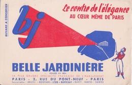 BUVARD - BELLE - JARDINIERE FONDEE EN 1824 - LE CENTRE DE L'ELEGANCE AU COEUR DE PARIS  BJ - VETEMENT HABILLEMENT - Vestiario & Tessile