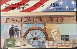 Telefonkarte USA - New York Telephone - Ellis Island 3 - 303B - Vereinigte Staaten