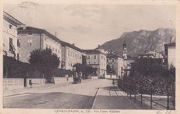 1931-Levico Bagni, Trento, Veduta Via Dante Alighieri, Viaggiata - Trento