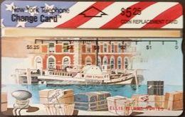 Telefonkarte USA - New York Telephone - Ellis Island 4 - 303B - Vereinigte Staaten