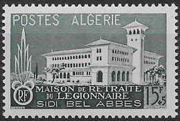 1956 Algérie N° 334  Nf** MNH . Au Profit De La Légion étrangère. - Algeria (1924-1962)